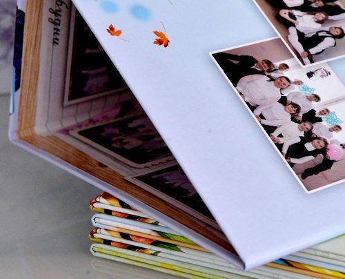 изображены створки альбома крупно