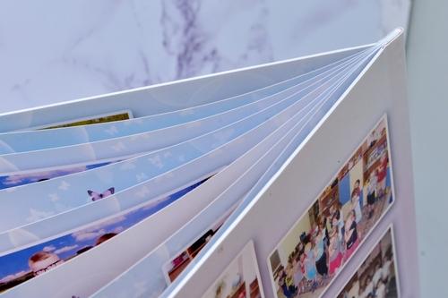 мягкая обложка выпускного альбома журнал для школы и сада